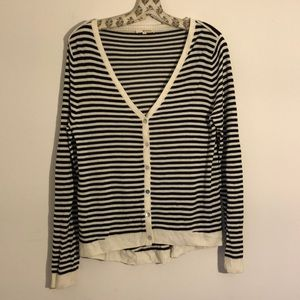 LAmade Striped Cardigan